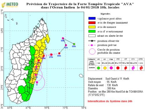 Primo ciclone dell'anno in Madagascar