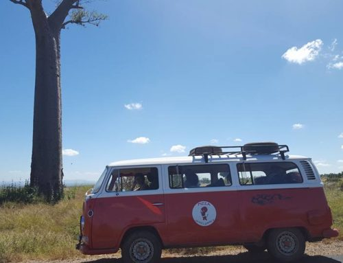Viaggiare in Madagascar con un'auto d'epoca